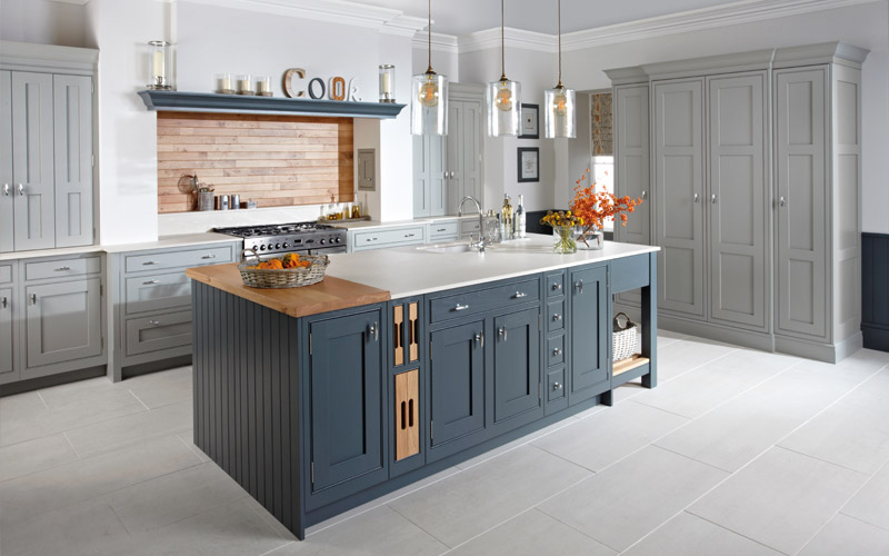 shaker traditional style kitchens