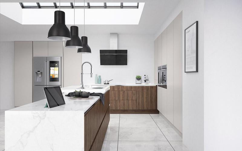Truw Handless kitchens by TKS