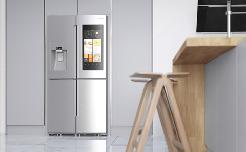 american fridge kitchen appliances